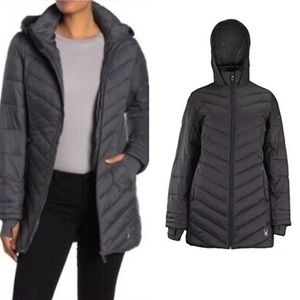🆕Spyder | Boundless Quilted Hooded Puffer Coat L
